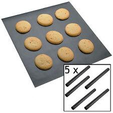 5 X Universale Rivestito Di Teflon Antiaderente Forno per Cottura extra-large foglio Mat Liner