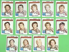 1980  PENRITH PANTHERS  SCANLENS RUGBY LEAGUE CARDS