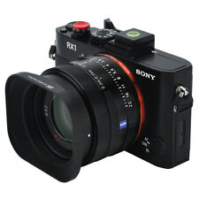 Jjc metal lens hood pour sony DSC-RX1 RX1R RX1RII/e 16mm 20mm 28mm objectif f/2.8