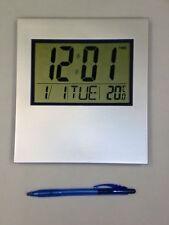 Hermosa Mesa De Lcd Grande Reloj Pared Digital Alarma Temp Oficina Escuela Hall numérico