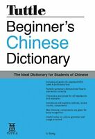 Beginner's Chinese Dictionary (Tuttle Language Library) by Dong, Li Paperback