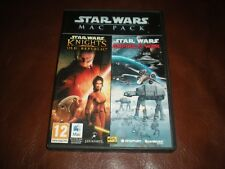 JEU PC STAR WARS MAC PACK 2 JEUX : KNIGHTS OF THE OLD REPUBLIC + EMPIRE AT WAR
