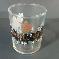 Budweiser Champion Clydesdales Shot Glass Horses