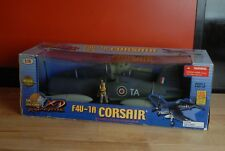 ULTIMATE SOLDIER -  RARE F4U-1A BRITISH CORSAIR - 1/18 WWII AIRCRAFT WITH PILOT