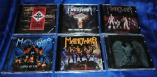 MANOWAR-6CD Set-Gods Of War/Battle Hymns/Into Glory Ride/Fighting The World/Sign