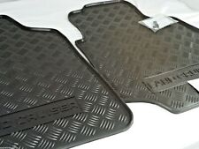 TOYOTA LANDCRUISER 100 SERIES FLOOR MATS FRONT PAIR RUBBER 1998-2007 NEW GENUINE