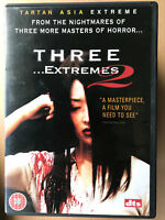 THREE ...EXTREMES 2~ Korean Thai Anthology Horror UK Tartan Asia Extreme DVD