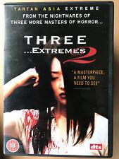 THREE EXTREMES 2~ Korean Thai Anthology Horror UK Tartan Asia Extreme DVD