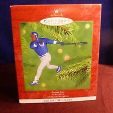 Sammy Sosa At the Ballpark Collector's Series 2001 Hallmark Christmas Ornament