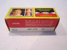 VINTAGE FAMOUS BRAND TRIPLE PRINT COLOR CAMERA FILM - 127 COLOR - UNOPENED BOX