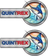 QUINTREX - CUSTOM DECALS - 400mm X 210mm X 2 - DECALS