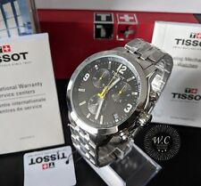 TISSOT PRC200 - Mens Chronograph Black Dial Swiss Watch - 1 YR WARRANTY- RRP£380