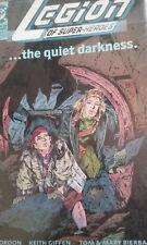 DC Comics , LEGION OF SUPER HEROS, The Quite Darkness, Parts 1 & 2, 1991.