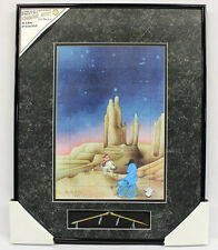 """LIMITED EDITION CHEROKEE INDIAN PRINT """"DARK PASSAGE""""  HAND SIGNED & NUMBERED"""