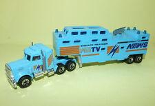 CAMION MB TV NEWS MATCHBOX 1981 taille majorette