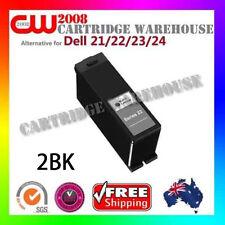 2x Compatible Dell 21/22/23/24 Ink Black for Dell V313 Dell V515w Dell V715w
