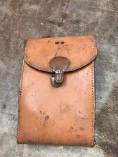 Cameras & Photo Craftsman Cases Stitched Leather Vintage Tuck Tite Carry Case W Strap Belt Slot