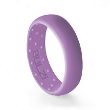 BULZi - Massaging Comfort Mens & Womens Silicone Wedding Band Safety Rubber Ring