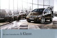 Mercedes A-Klasse Prospekt 2008 4/08 W 169  Autoprospekt brochure broshura esite