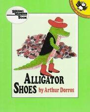 Alligator Shoes (Reading Rainbow)-ExLibrary