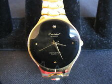 Precision by Gruen Watch - Diamond/Black Face/Gold - New! - New Reduced Price