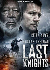 Last Knights Clive Owen and Morgan Freeman DVD + Digital Copy ~ NEW ~ Free Ship