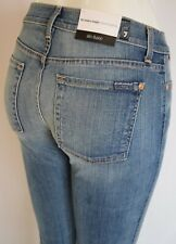 Seven 7 For All Mankind MODERN STRAIGHT Jean Women 25 IN ILLUSION DUSTY BLUE