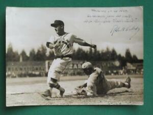 1940 SANTA ROSA MEXICO ROBERTO CABAL BASEBALL BEISBOL BLACK AND WHITE PHOTO