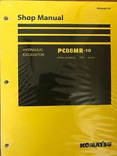 Komatsu PC88MR-10 Service Repair Printed Manual