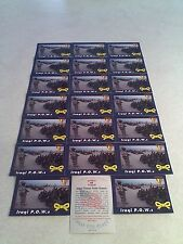 *****Iraqi P.O.W.s*****  Lot of 21 cards