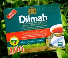 Dilmah 100 TEA BAGS - PREMIUM BLACK TEA - FRESH , PURE CEYLON TEA