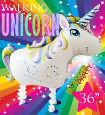 """36"""" WALKING Unicorn Centerpiece BALLOON balloons BIRTHDAY PARTY SUPPLY"""