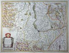 Mercator Hondius kaerius Territory Basiliensis svizzera Basilea Reno 1633