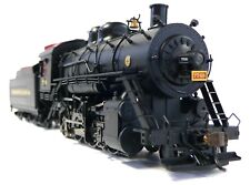 HO Scale Model Railroad Trains Engine Pennsy 2-8-0 DCC Sound Steam Locomotive