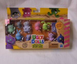 Hasbro 9 Mini Ugly Dolls Super Soft and Fuzzy Collectible Figures NEW IN PACKAGE