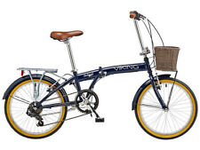 Biciclette blu pieghevole