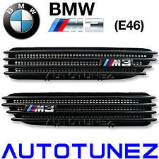 Carbon Fiber Side Fender Air Vent BMW M3 E46 3 Series Beemer Car Tunezup
