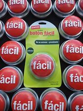 STAPLES en español botón fácil Spanish EASY BUTTON ORIGINAL VINTAGE NON WORKING