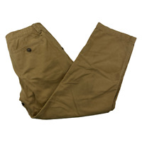 American Eagle Relaxed Straight Beige Khaki Chino Pants Men Size 32 x 30 Casual