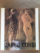 Catalogo CARLO CORSI - Giulio Carlo Argan, Franc Solmi - Ferrara 1985
