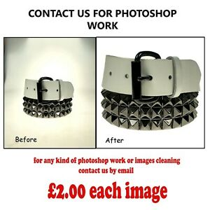 PHOTOSHOP WORK FOR CLEAN IMAGES