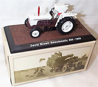 David Brown Selectamatic 880 1969 Tractor New in Box 1-32 scale Atlas editions