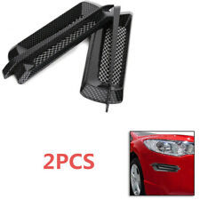 Kind Auto Car Side Air Flow Vent Fender Cover Intake Grille Sticker Carbon Fiber