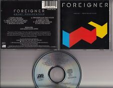 FOREIGNER Agent Provocateur 1984 CD GERMANY ALSDORF I want to know what love is
