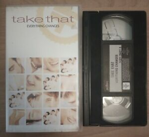 Take That - Everything Changes - VHS Video Cassette Tape - BMG 1994