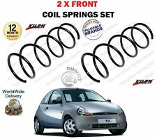 FOR FORD KA RB 1.0 1.3 1996-2008 NEW 2 X FRONT LEFT + RIGHT COIL SPRINGS SET
