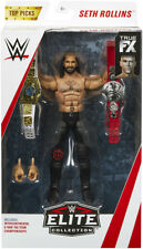 "Seth Rollins - WWE Elite ""Top Talent 2018"" Mattel Toy Wrestling Action Figure"