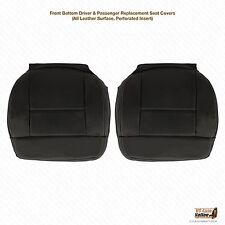 2005 Ford F150 FX4 XLT Driver/Passenger Bottom Leather Seat Covers Perforated