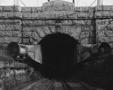 St. Clair River Tunnel Port Huron MI Portal 1993 View 8x10 photo