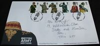 2007 Royal Mail British Army Uniforms FDC | First Day Cover | KM Coins